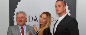 Dario Marenic (Praesident ELDA Ltd.), Daria Marenic Marketing Manager ELDA Ltd.), Rinor Krasiniqi (Sales Manager ELDA Ltd.)